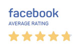 Facebook average rating