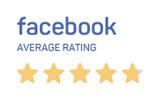 Facebook average rating